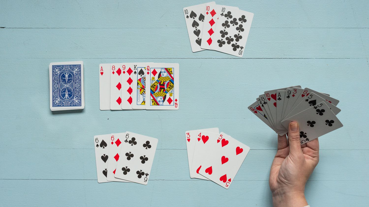 Learning the Basic Rules of Rummy Games